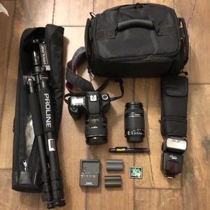 Canon DSLR 40 D Camera and More